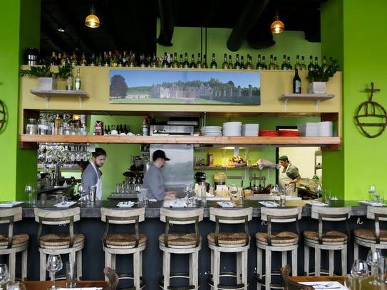 The restaurant Chartreuse Kitchen & Cocktails inside