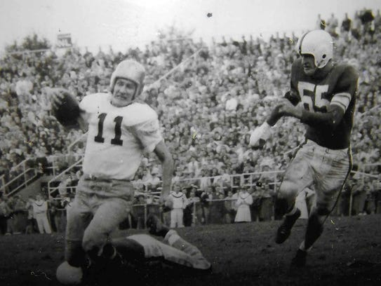 The toughest Nittany Lion? Here, Frank Reich Sr. chases