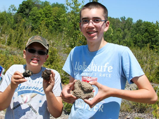 Zachary and Logan Pickelmann, ages 11 and 14, of Frankenmuth,