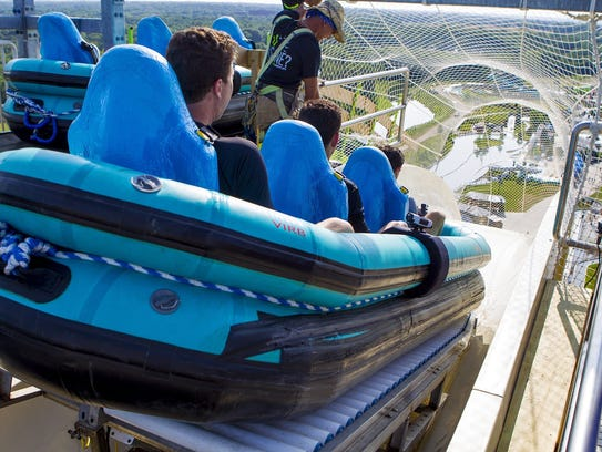 A 10-year-old boy was killed while riding the Verrückt