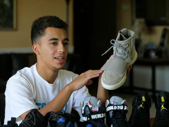 Dominick Ruiz, 16, of Manalapan, who started his own