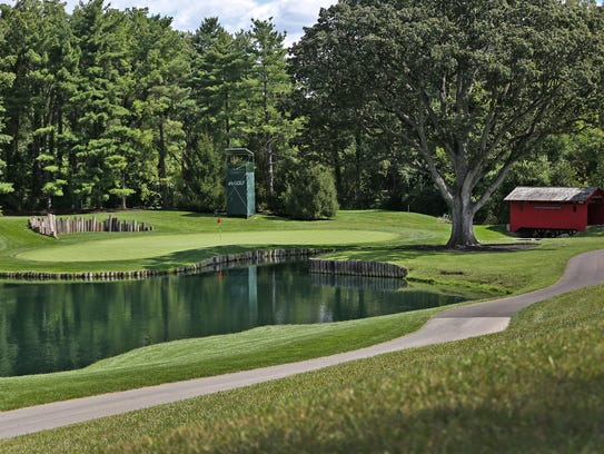 The sixth hole at Crooked Stick Golf Club, one of Alice