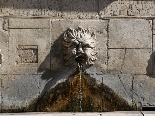 Locals of Sulmona, a medieval walled city in Abruzzo,