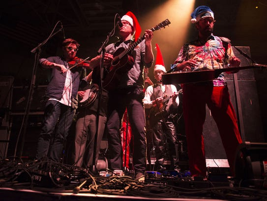 Members of Love Cannon opened the 27th annual Warren