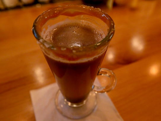 The Salted Caramel Hot Buttered Rum at Table Five 08
