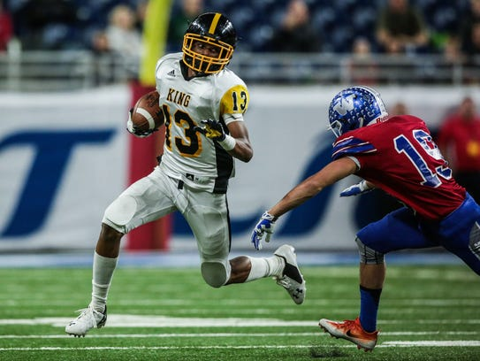 Ambry Thomas, Detroit King defensive back.