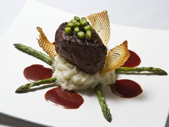 Filet mignon is a signature entree at Scarborough Fair in Sea Girt.