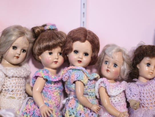 Each doll in Jeanette Majerle's collection mirrors