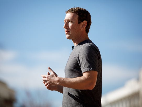 Facebook CEO Mark Zuckerberg discussed his vision to