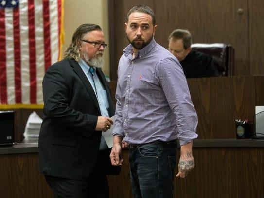 Jesse Wayne Taylor pleaded not guilty Friday, Feb.