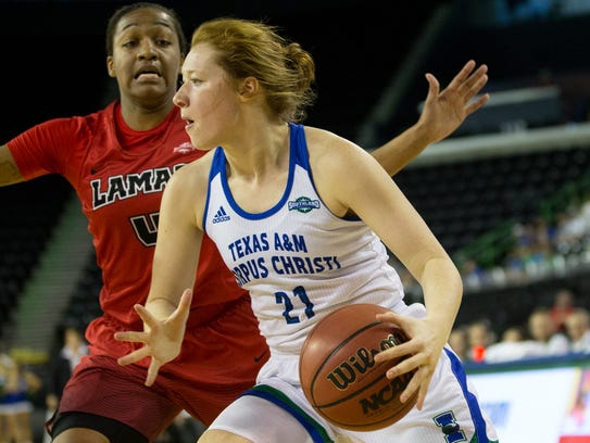 Texas A&M-Corpus Christi sophomore Emma Young and the Islanders won seven nonconference games and have higher expectations going into Southland Conference play.