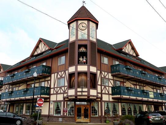 The Glockenspiel in Mt. Angel. Photographed on Wednesday,