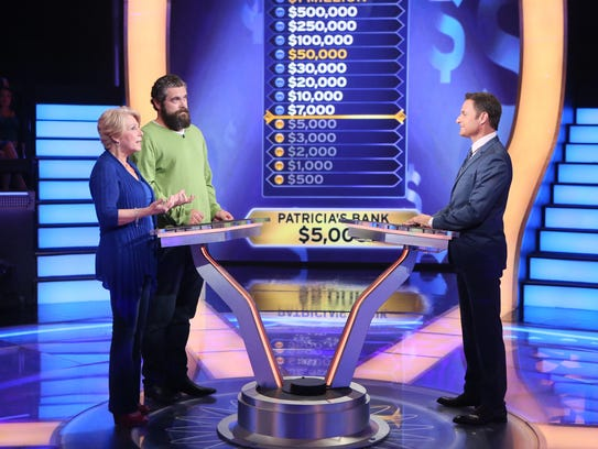 """Patricia Jurado playing """"Who Wants To Be A Millionaire?"""""""