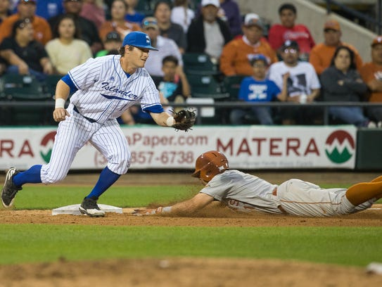 Texas A&M-Corpus Christi head baseball coach Scott Malone expects Jackson Owens to start at third base and pitch for the Islanders this season.