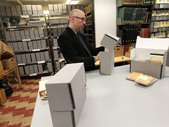 Greg Prickman, head of the University of Iowa Libraries