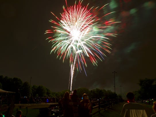 The Fourth of July weekend gets underway with a fireworks