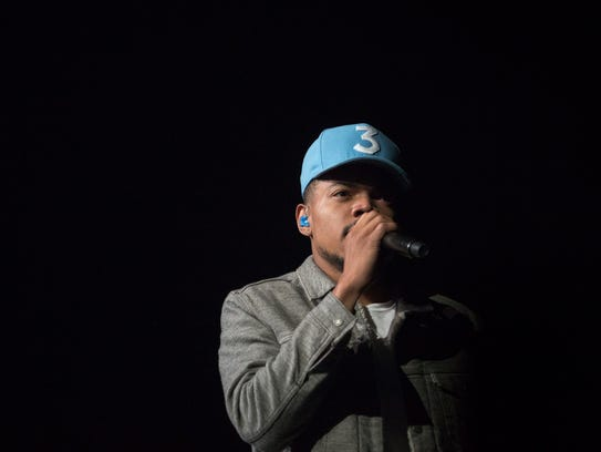 Chance The Rapper performs at the Palace at Auburn