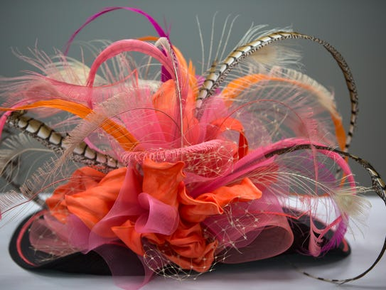 One of the hats worn at this year's Kentucky Derby