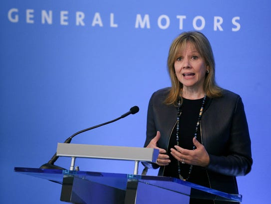 Chairman and Chief Executive Officer of General Motors
