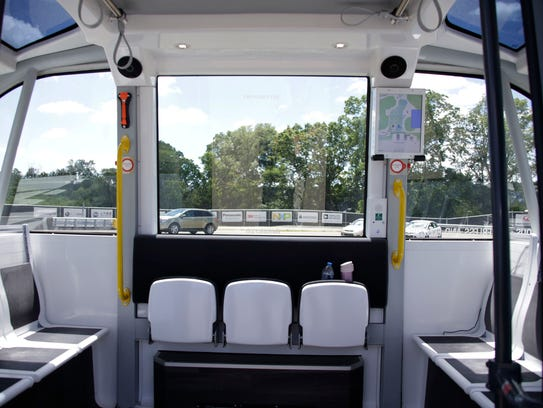 Mcity will launch a driverless shuttle service on the