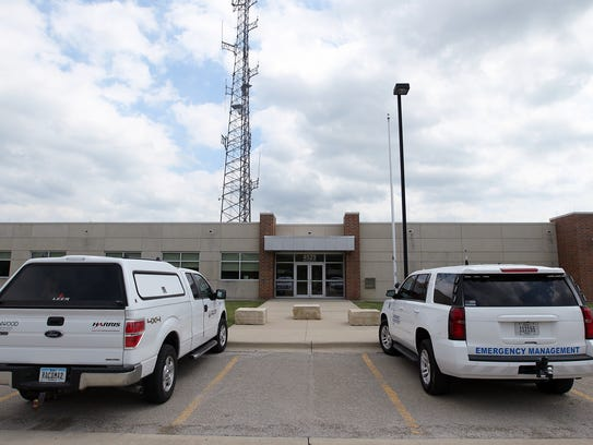 The Joint Emergency Communications Center is pictured