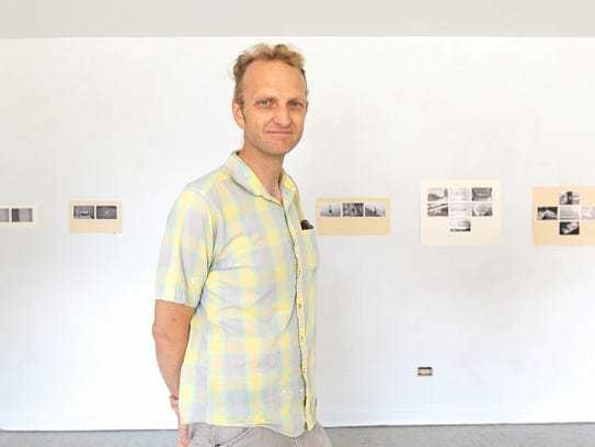John Engelbrecht, director of Public Space One, poses
