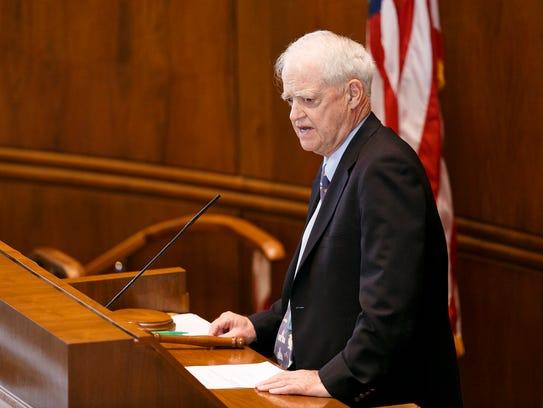 Senate President Peter Courtney, D-Salem, has blocked