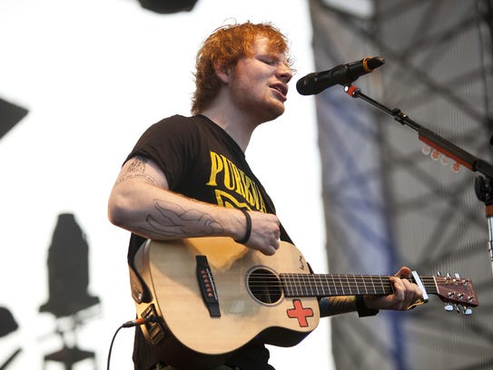 Ed Sheeran will perform at Bankers Life Fieldhouse