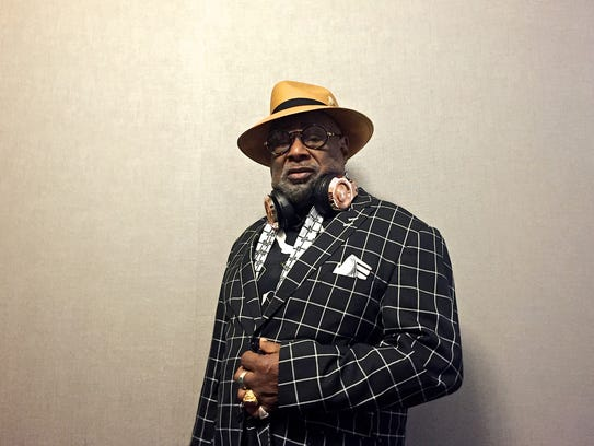 George Clinton photographed on Friday, August 26, 2016,