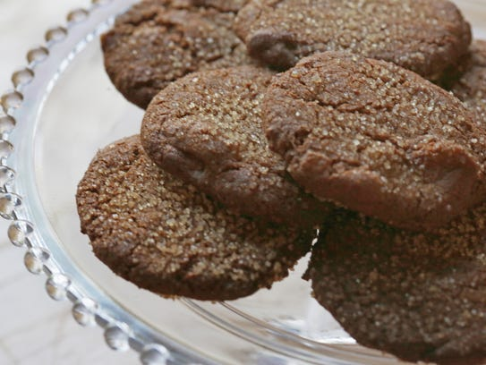 Ginger Jump-Up Cookies are photographed at Great Lakes