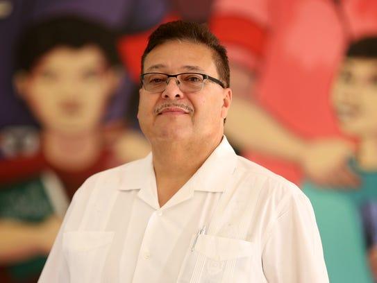 Ramon Ramirez, the president of PCUN: Pineros y Campesinos