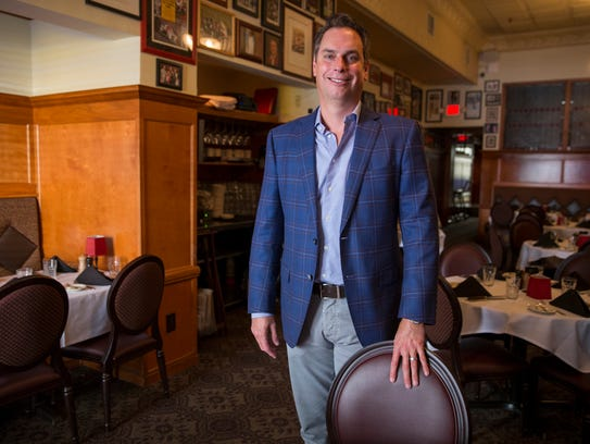 Craig Huse, co-owner of St. Elmo Steak House, Indianapolis,