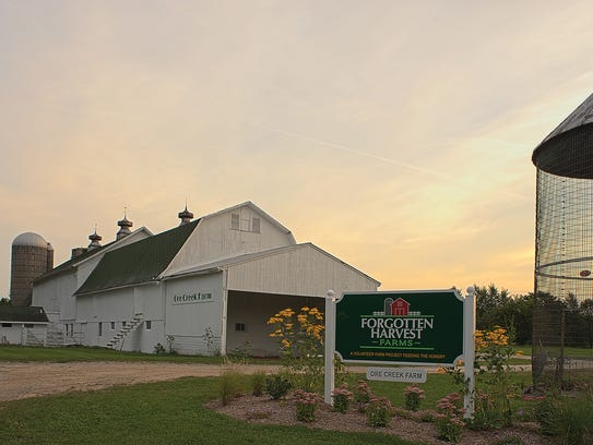 Since its inception, Forgotten Harvest Farms has harvested