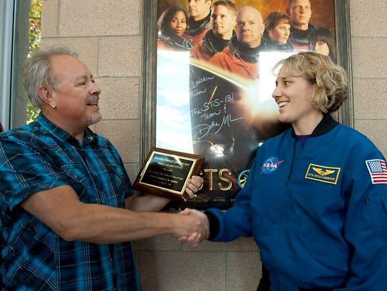 Fort Collins High School science teacher Rick Blas,