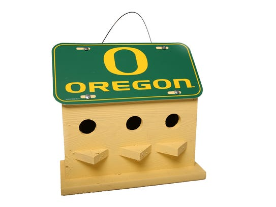 Even the birds love the Oregon Ducks, $30, The Fussy