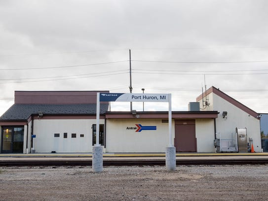 The current Amtrak station is located at 16th Street.