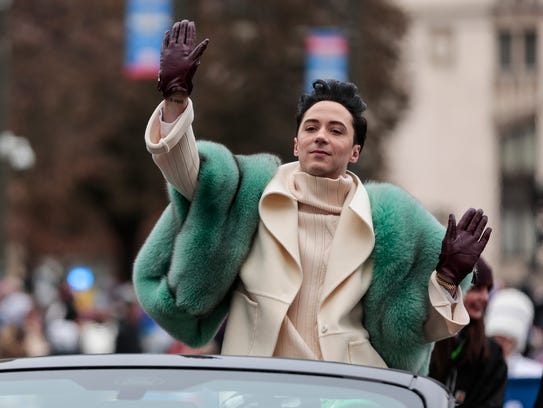 Johnny Weir, three-time U.S. champion, two-time Olympian