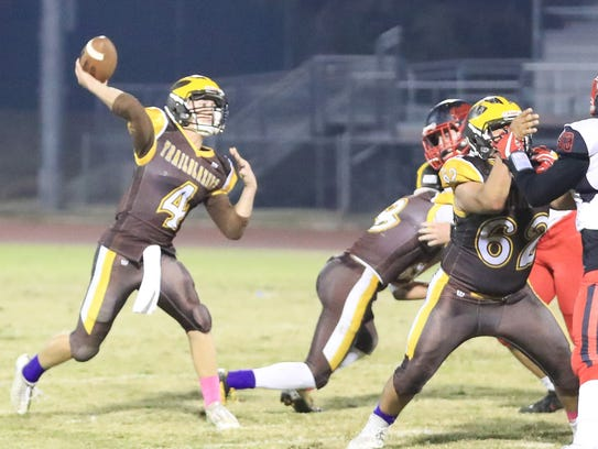 Golden West hosts Hanford during a West Yosemite League