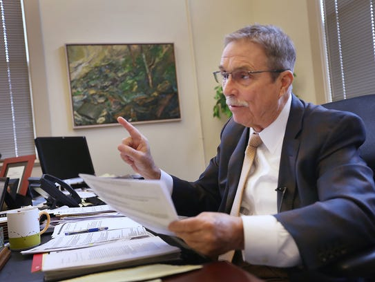 Indianapolis attorney John Haskin says Indiana's sexual harassment laws prevent people from having their day in court.