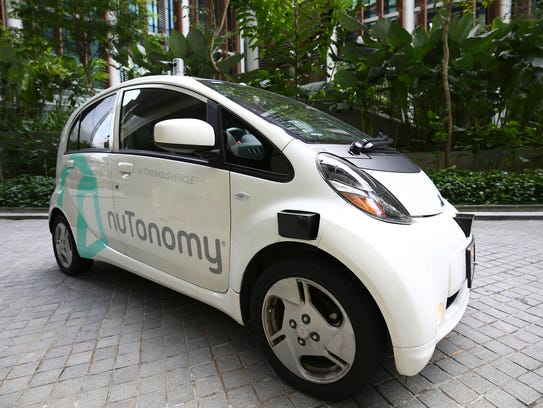Autonomous vehicle software startup nuTonomy has made