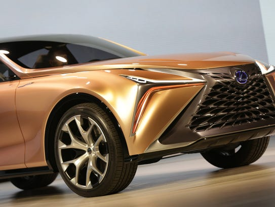 The Lexus LF-1 Limitless concept crossover