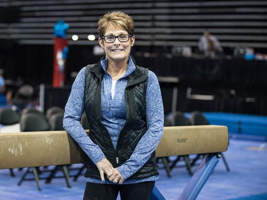 Branch Gymnastics co-owner Cindy Scharns.