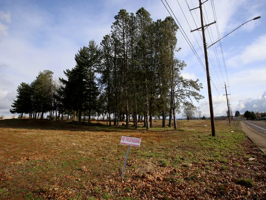 The proposed site of a new Costco Wholesale warehouse