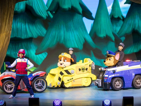 """Paw Patrol Live! The Great Pirate Adventure"" is based"