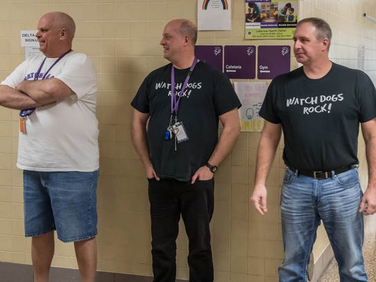 From left: Tim Martinovich, Todd Cook and Scott Wise