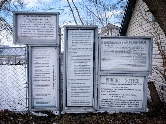 Documents obtained through FOIA requests are displayed