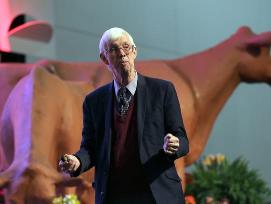 Dr. Mike Boehlje, one of the keynote speakers at the