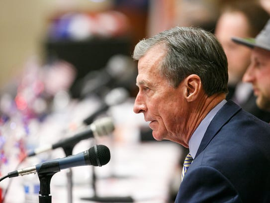 Republican gubernatorial candidate Greg Wooldridge