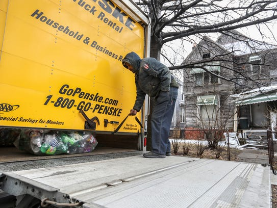 Stanley Thompson, 70, of Detroit is moving out of his family home in Woodbridge after losing the home for not paying the property taxes.