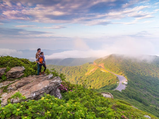 Have a beautiful adventure hiking in Asheville